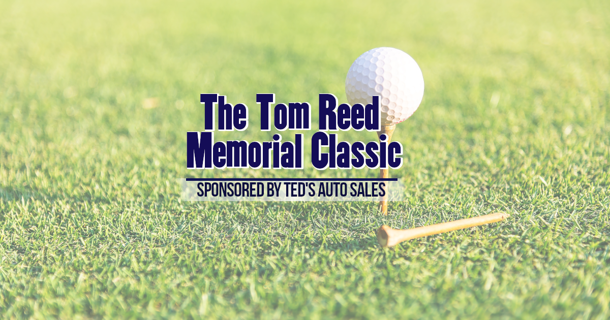 The Tom Reed Memorial Golf Classic is coming up!