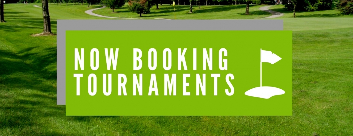 Now Booking Tournaments!